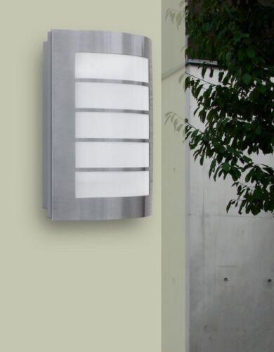 LED Außenleuchte Wandlampe 8 Watt Garten Beleuchtung Eco-Light Lutec Slim ST5001