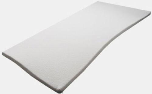 Matratzenauflage Topper Visco Schaumstoff 110x200x5cm mit Coolmax Glatt Härte 3