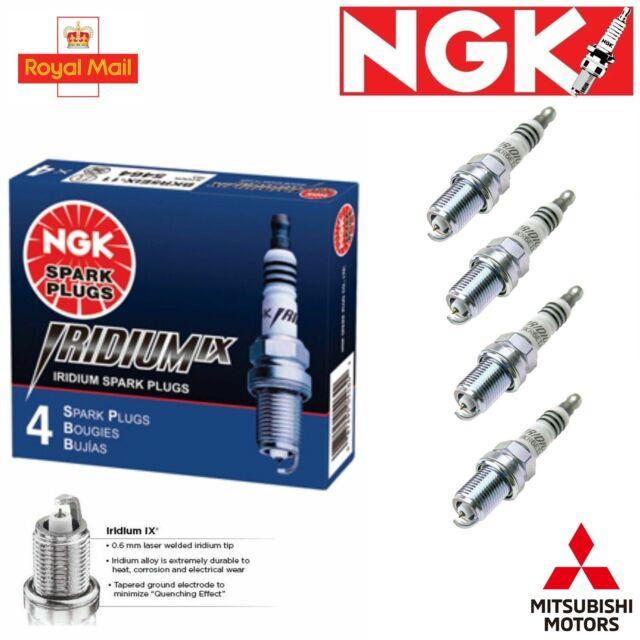 NGK Laser Iridium 4x Ignition Spark Plug 4 Pack x4 For Mitsubishi Lancer Evo VII