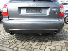 Stoßstange hinten Audi A4 S4 B6 8E Avant delphingrau LX7Z Heckspoiler grau