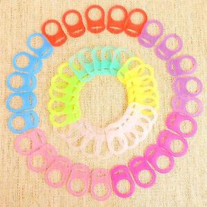 4-Stuecke-Silikon-Knopf-MAM-Ring-Dummy-Schnuller-Halter-Clip-Adapter-Pop
