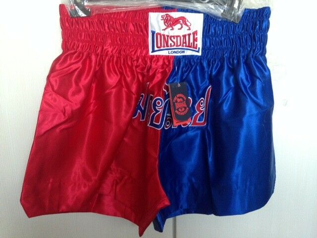 Lonsdale Thai Boxing Shorts 2XL Mens Sportswear BNWT free post worldwide
