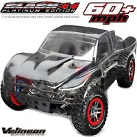 Traxxas 6804r 1/10 Scale Slash 4x4 Platinum Sc Truck Brushless Arr on sale