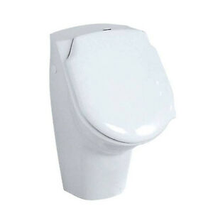 urinal rocky urinal becken urinal mit deckel urinal pissuar weiss ebay. Black Bedroom Furniture Sets. Home Design Ideas