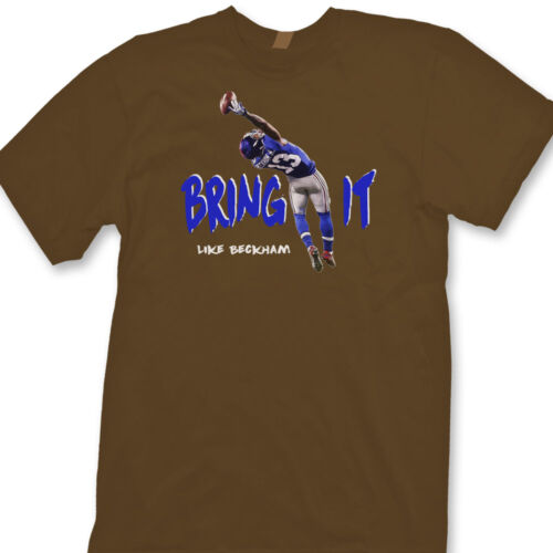 Odell Beckham Jr Bring It Like Beckham Tee Giants Catch of the Year Tee Shirt