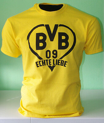 Borussia Dortmund BVB 09 Germany Bundesliga Football Soccer T shirt - True Love