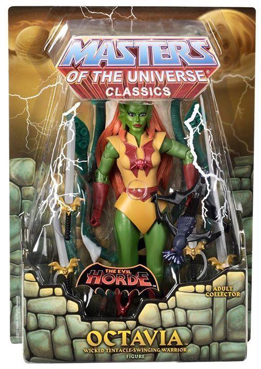 Octavia 2013 Masters Of The Universe Classics Motu He-Man Moc Motu-Classics