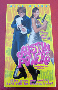 VHS-Movie-Austin-Powers-International-Man-of-Mistery-Mike-Myers