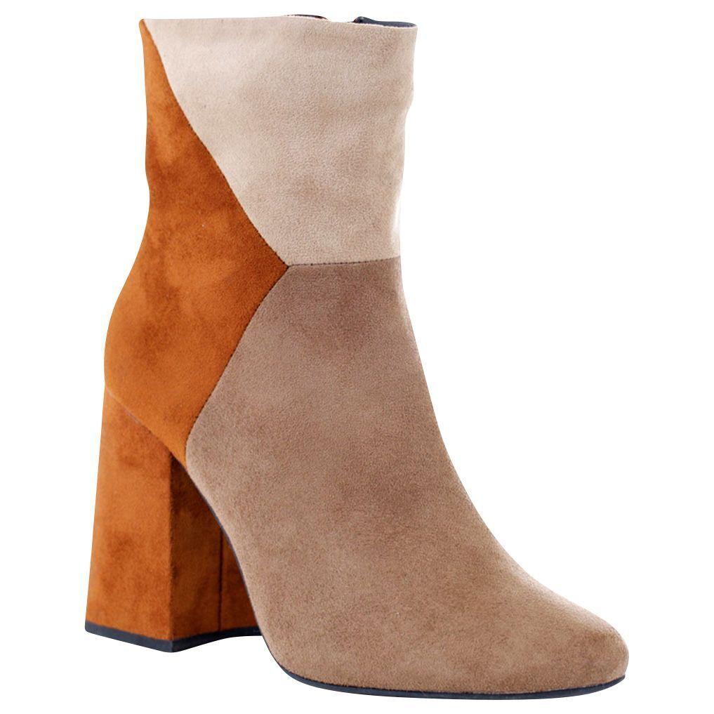 Women's GC Shoes Anubis Boot Tan Multi Size 7 #NKV7W-811