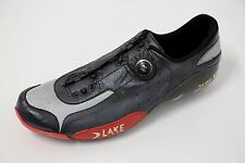 Lake CX401 *left-shoe only* size 44EUR black leather heat moldable carbon BOA