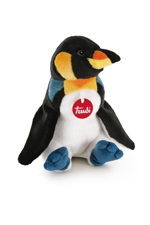 Peluche Trudi Pinguino 33cm cod.26672 Top quality made in