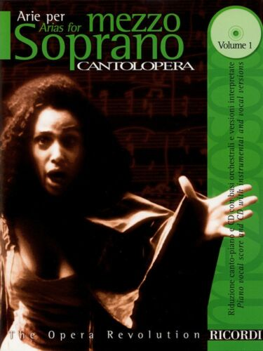 Cantolopera Arias for Mezzo-Soprano Volume 1 Cantolopera Collection 050484051