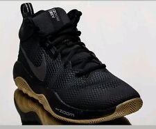 Nike Zoom Rev 2017 men basketball sneakers NEW black 852422-010 Size 8.5