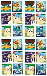 Image Is Loading 4 Sheets Disney PHINEAS And FERB Agent P