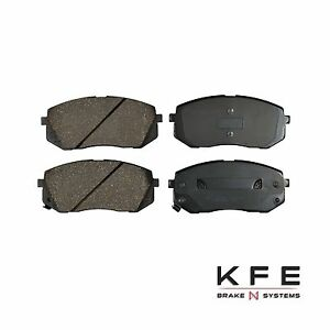 Front and Rear Ceramic Brake Pads Fits Hyundai Tucson Fuel Cell and Kia Sportage