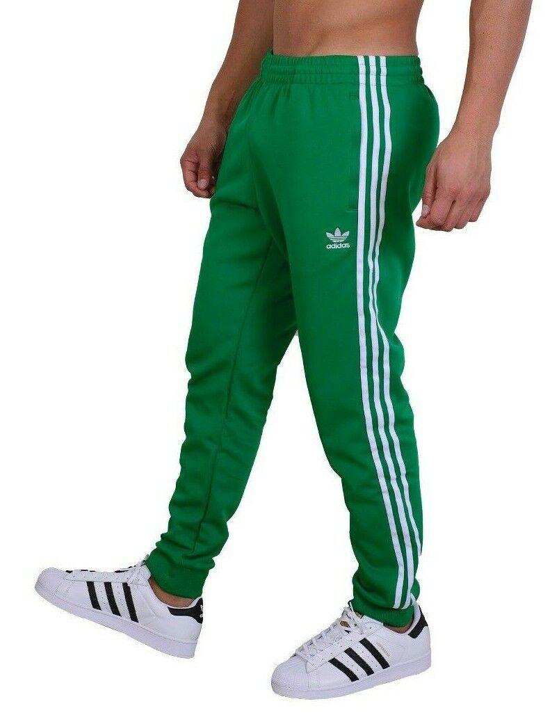 adidas adicolor green sst track pants