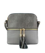 item 4 New UK Ladies Shoulder Hand Bag Tassel Zip Cross Body Small  Messenger Purse Bag -New UK Ladies Shoulder Hand Bag Tassel Zip Cross Body  Small ... ecaec30870809