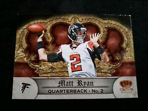 2012-Crown-Royale-Retail-Atlanta-Falcons-Football-Card-86-Matt-Ryan