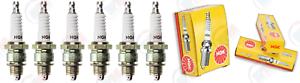 """NGK BP6HS /""""NICKEL/"""" Standard Plug Spark Plugs 7331 Set of 6"""