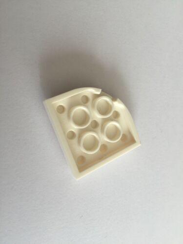 Plaque angle 3x3 blanc 4550745 pièce détachée Lego friends