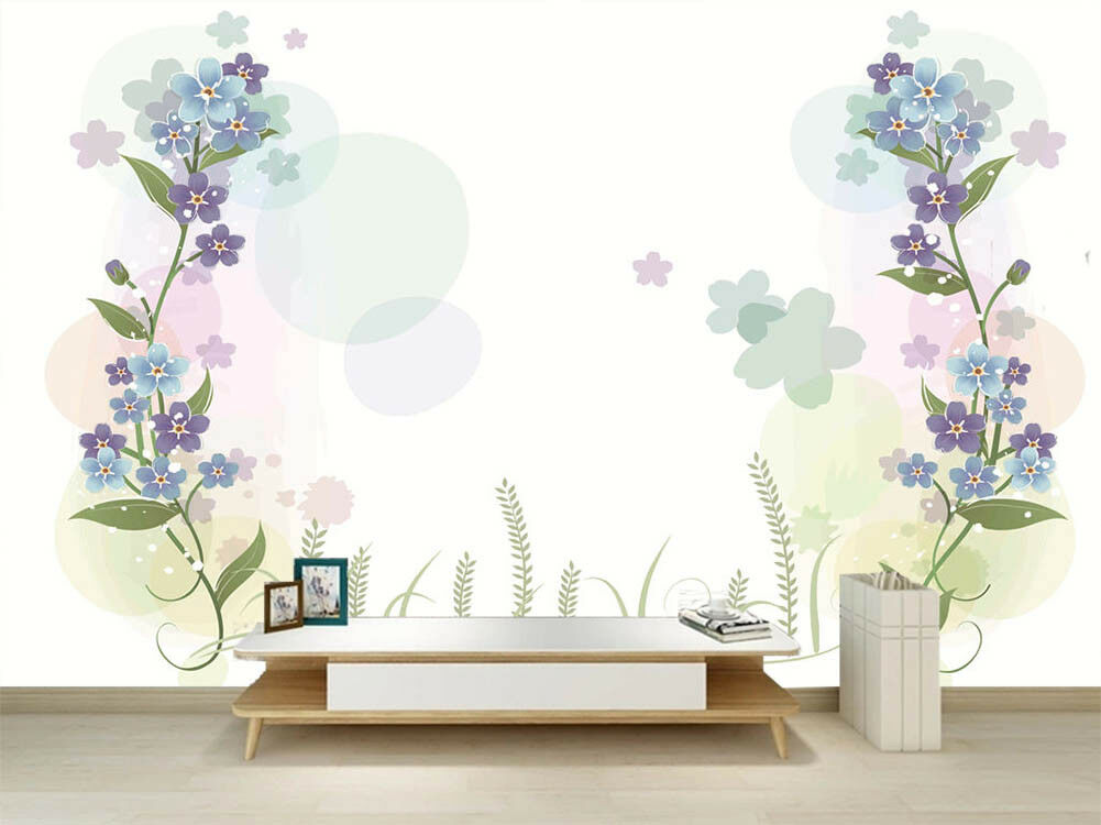 Royal Pulpy Lily 3D Full Wall Mural Photo Wallpaper Printing Home Kids Decor