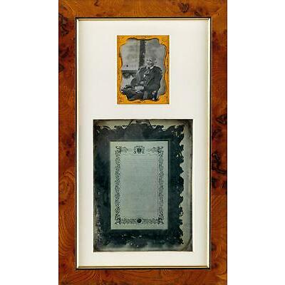 3. SOUTHWORTH & HAWES (1843-1863) Assemblage with 2 daguerreotypes, compri... Lot 3