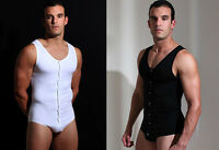 Doreanse Bodysuit Snap Crotch Athletic Underwear