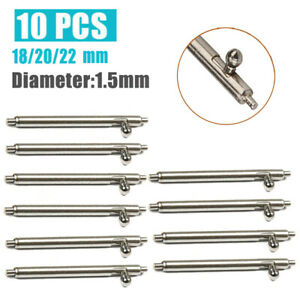 Quick-Release-Watch-Strap-Spring-Bars-Watch-Pins-10pcs-18mm-20mm-22mm