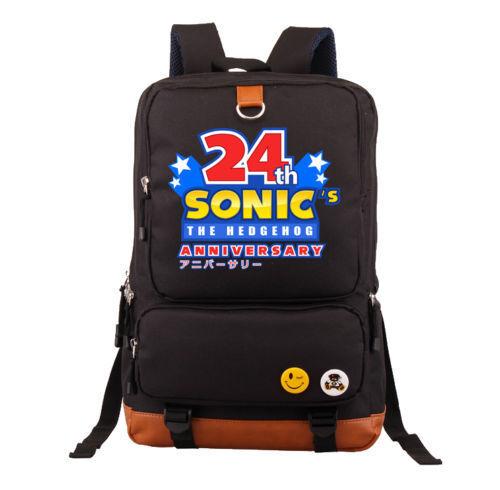 Sonic the Hedgehog Anniversaire Sac D/'École Livre Sac 6 Styles//M