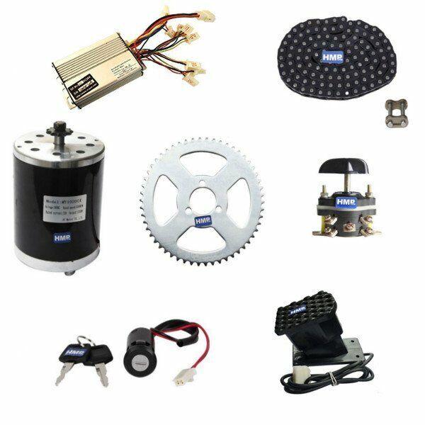compra limitada Hmparts Motor Eléctrico Kit Construcción 36V 1000W Typ 1 1 1  tienda en linea