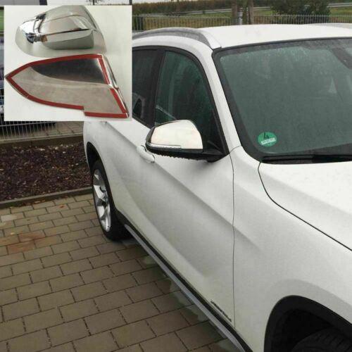 Für BMW X1 E84 2009-2015 Spiegelkappen Abdeckung aus Edelstahl