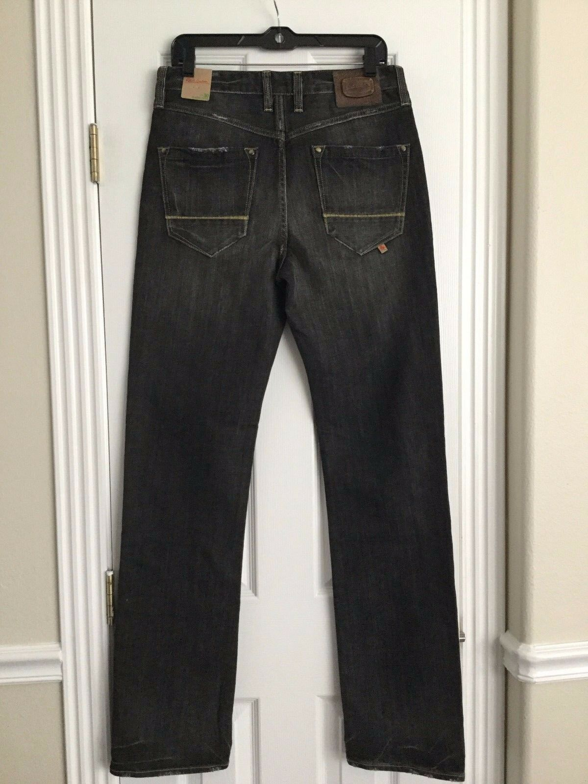 Nwt Robert Graham Sz30 Klassisch Yates Distressed Jeans