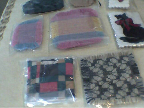 large lot of 13 mini,miniature dollhouse rugs mixed shapes colors