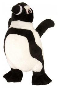 "Wild Republic Cuddlekins 12/"" Black Footed Penguin Plush Soft Toy Cuddly 11656"
