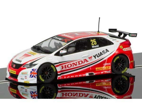 SCALEXTRIC C3734 BTCC HONDA CIVIC TYPE R DONINGTON PARK NEW