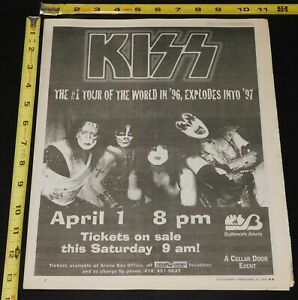 KISS-Band-Reunion-Tour-Baltimore-Concert-Full-Page-Ad-1997-Gene-Ace-Peter-Paul