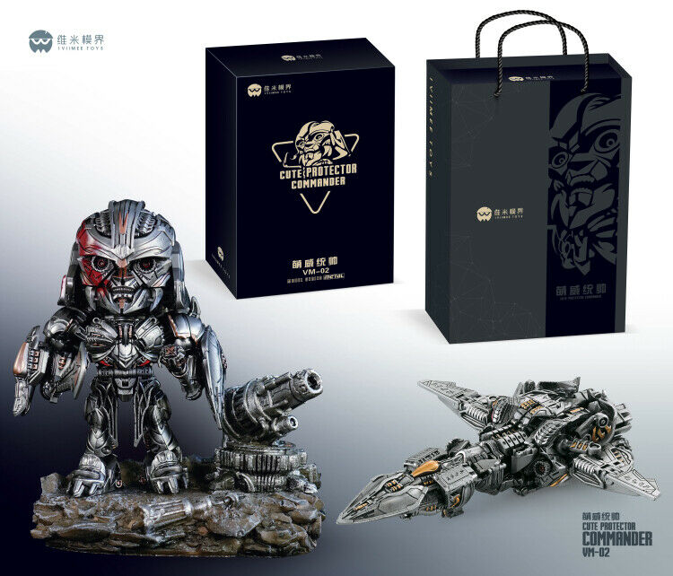 nuovo Transformable Iviimee giocattoli VM01 Robot Diecast Megatron With Base Deluxe ver