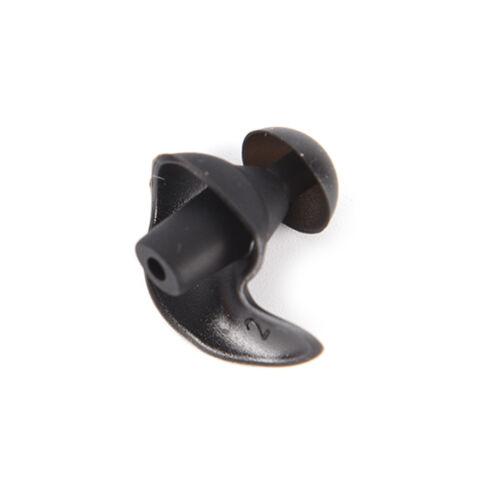 Bouchon d/'oreille étanche ENIU noir anti-bruit de silicone de natation silico/_jy