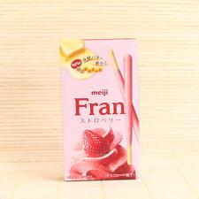 Japanese Meiji FRAN STRAWBERRY CHOCOLATE Japan Candy Butter sticks pocky Mousse