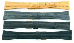 18mm-amp-20mm-FLEURUS-CENTER-PAD-STITCHED-GENUINE-CALF-LEATHER-WATCH-BAND