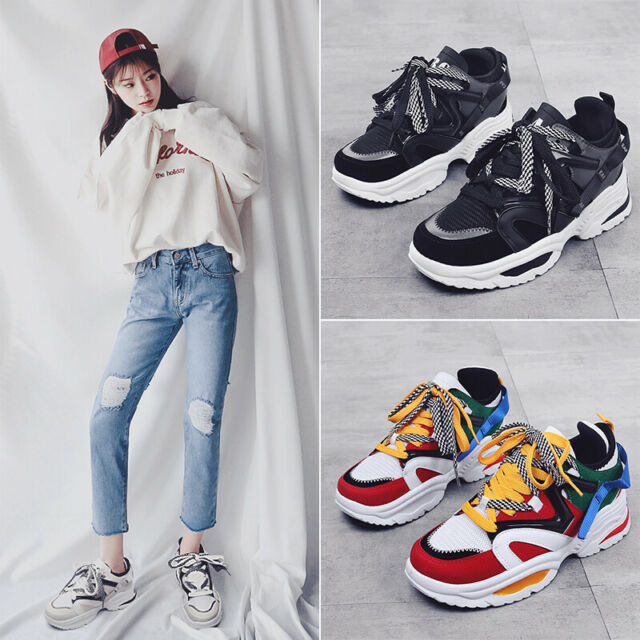Womens Classic Sneakers Athletic Tennis Shoes Casual Running Sport Shoes Leisure