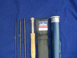Scottish-Made-Daiwa-Lochmor-X-4-Piece-8-6-034-6-Trout-Fly-Fishing-Rod-amp-Hard-Tube