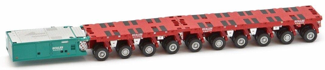 IMC32-0003 - Plateau 6+4 SCHEURLE avec groupe auto propulseur  - 1 50