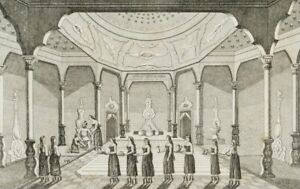 Unbek-19-Jh-Badsaal-im-Harem-Istanbul-Stahlst