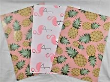 100 10x13 Designer Pineapple Flamingo Mailer Poly Shipping Envelope Boutique Bag