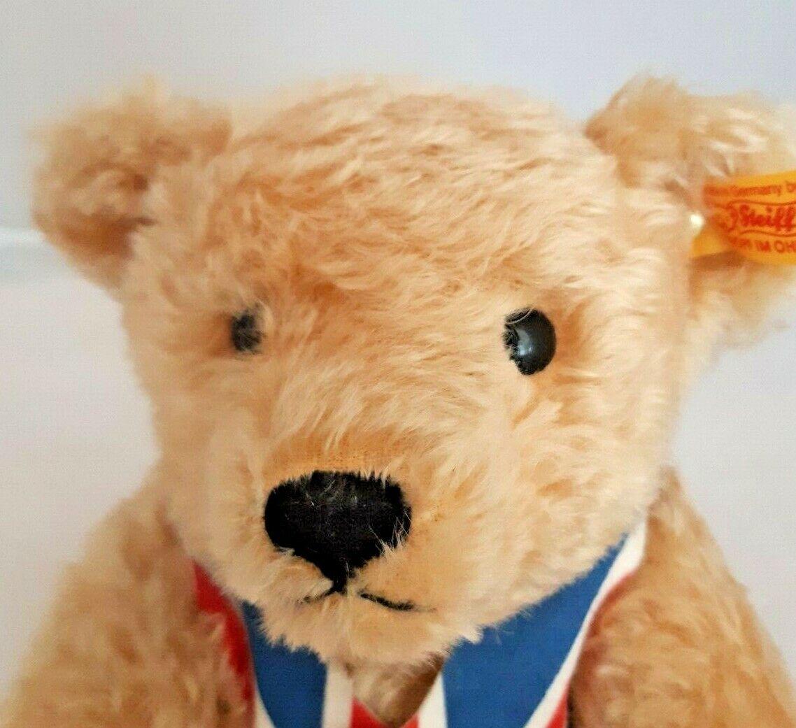 STEIFF UNION JACK TEDDY BEAR