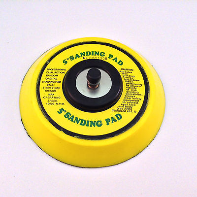 """5"""" DA Vinyl PSA Face Sanding Pad for Dual Action Sanders Use with Stick On Pads"""