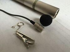 Sony ECM-30 Electret Microphone RCA Altec Shure Electrocvoice EV WE