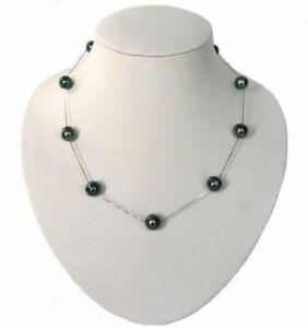 stunning-18-034-7-8MM-NATURAL-TAHITIAN-BLACK-PEARL-NECKLACE-fine-silver