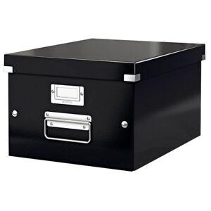 Aufbewahrungsbox Click Store Din A4 Leitz Transportbox Sammelbox